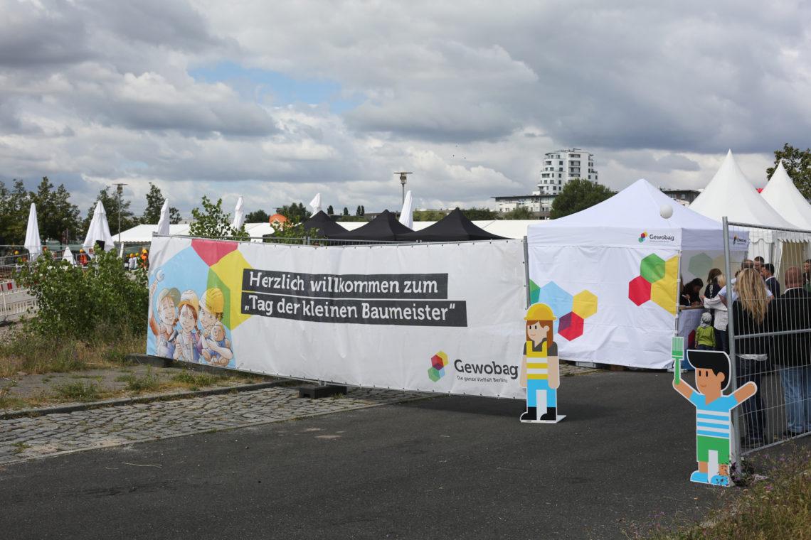 Eingang Tag der kleinen Bauprofis 2020