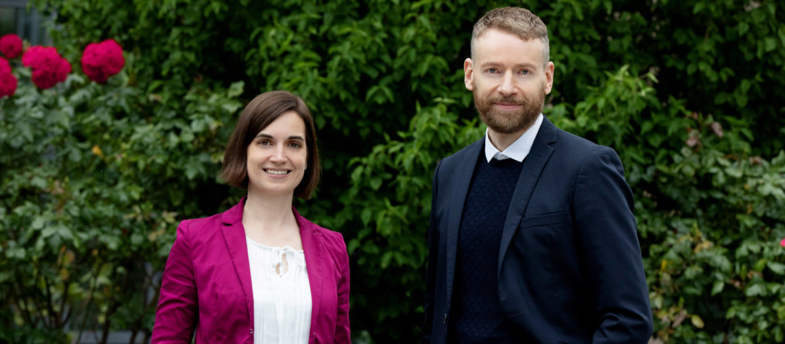 Anne Grubert und Volker Hartig