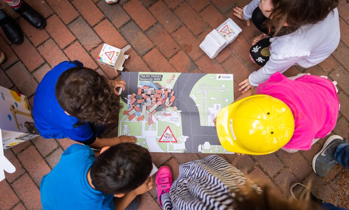 Bauplan am Tag der kleinen Bauprofis 2020