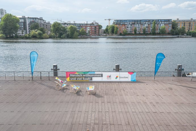 Stand-up-Paddling WATERKANT Berlin
