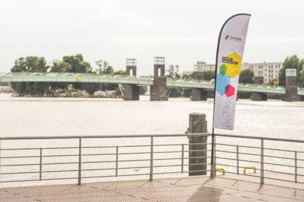 Stand-up-Paddling an der WATERKANT Berlin