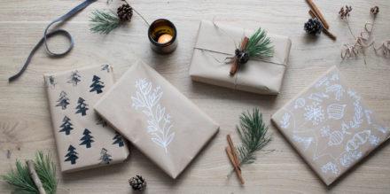 Weihnachtsgeschenke verpacken - DIY