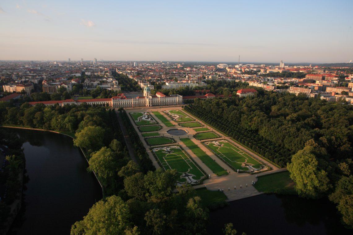 Spaziergang im Schloß Charlottenburg