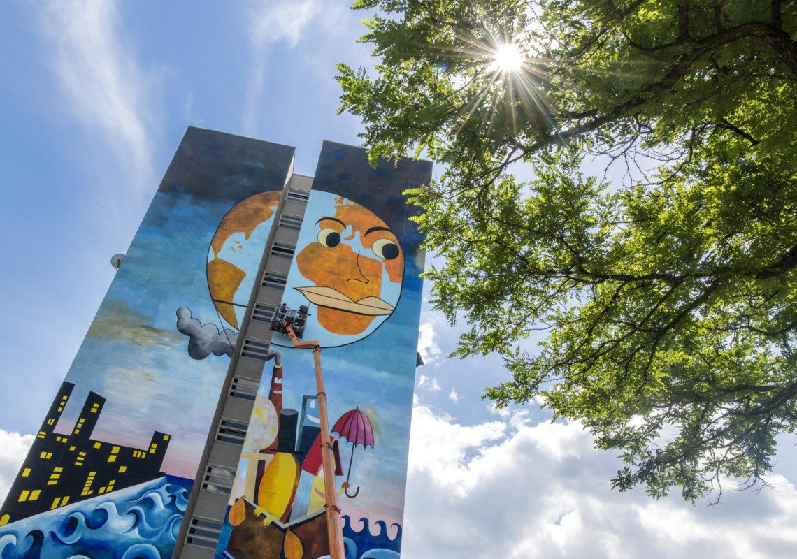Spaziergang in Berlin Artpark Tegel