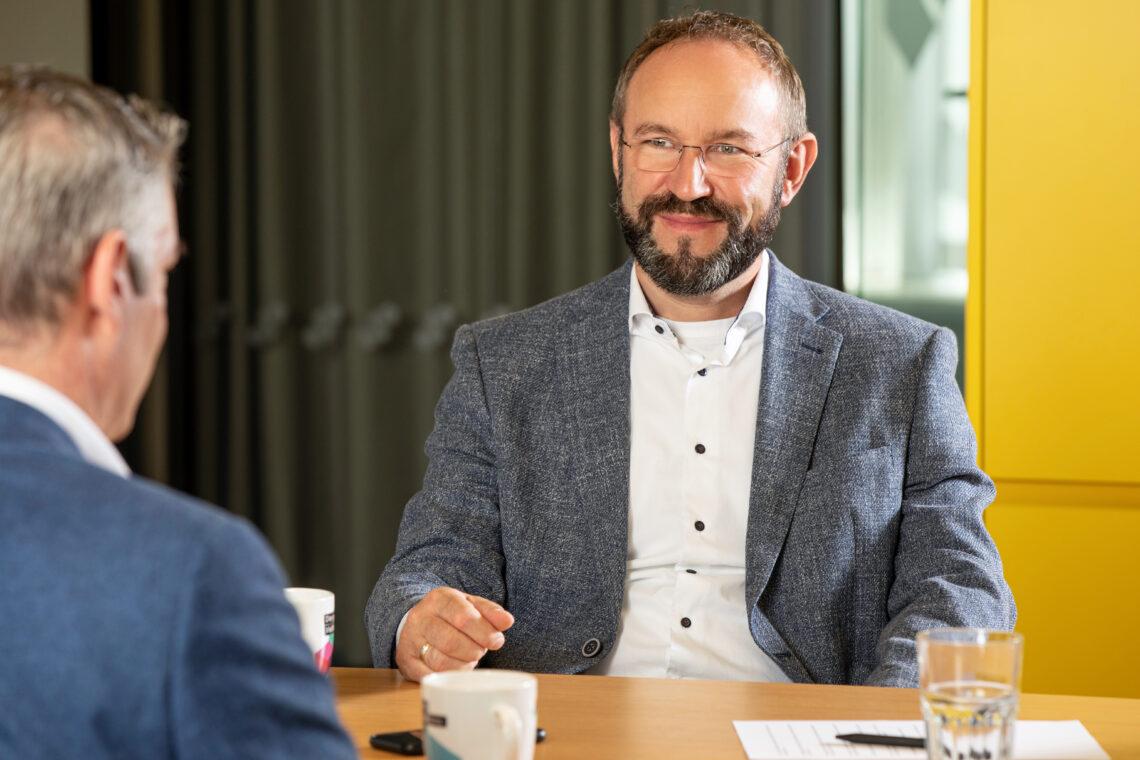 Ronny Gregor, Abteilungsleiter Finanzierung