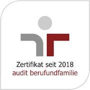 Zertifikat vom Audit Beruf und Familie für die Gewobag als Arbeigeber