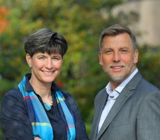 Die Geschäftsführer Nicole Wilke und Boris Drigalski